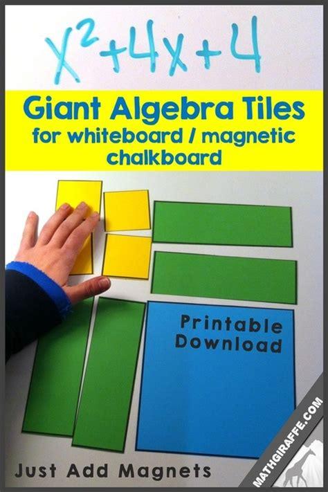 Online Virtual Algebra Tiles by Giant Algebra Tiles For Magnetic Whiteboard Free Download