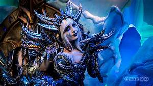 Cosplayer Jessica Nigri And The Lich King Highlight