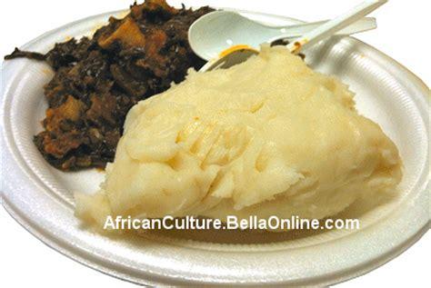 fu fu cuisine fufu recipe mashed yams culture