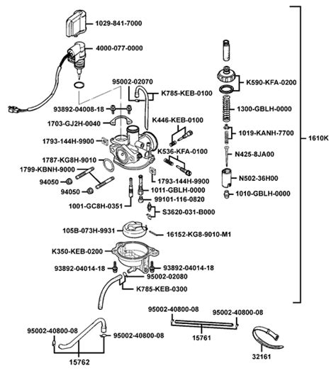 carburateur kymco agility 50 id 233 e d image de moto