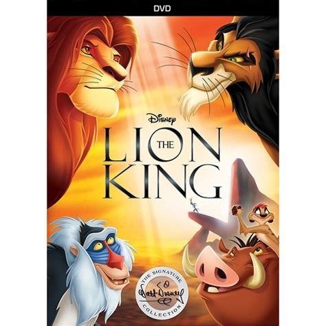 lion king  walt disney signature collection dvd