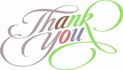 Thank Colorful Text Clipart Fantastic Clipartly