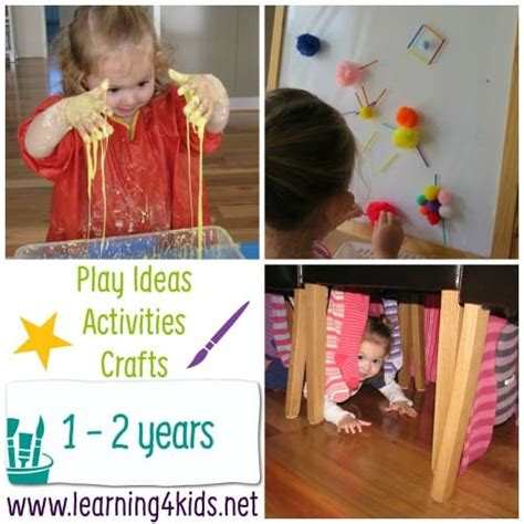 play ideas activities  crafts play  age learning