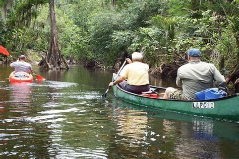 canoeing kayaking kayak hillsborough tampa bay county camping upper parks recreation