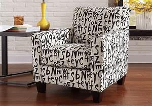 Brindon Graffiti Accent Chair Cincinnati Overstock Warehouse