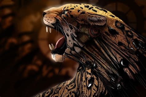 Cool Car Wallpapers For Desktop 3d Animal by Aliexpress Buy Roaring Jaguar Animal