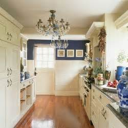 gallery kitchen ideas blue and white galley kitchen kitchen design housetohome co uk
