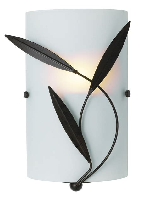 cloe chocolate frosted effect single wall light departments diy at b q