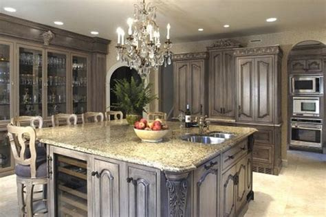 antique gray kitchen cabinets top 15 kitchen cabinet ideas ultimate home ideas 4090