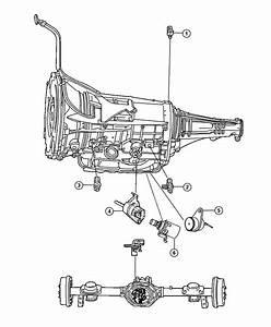 Dodge Ram 1500 Sensor  Manual Valve Lever  Trans Range