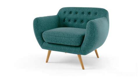 Fauteuil Vintage En Tissu Au Design Scandinave Ondigy