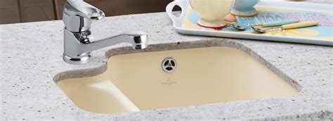 Premium quality undercounter sink from Villeroy & Boch