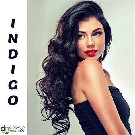 Henna Maiden Pure Indigo Blue Black Hair Color 100