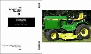 John Deere 400 Hydrostatic Lawn  U0026 Garden Tractor Service