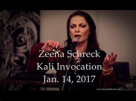 zeena schreck  invocation  performance clip