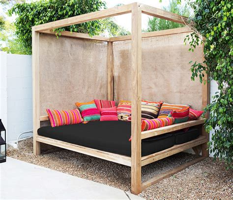 outdoor canopy bed daydreaming outdoor beds centsational