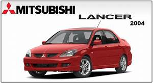Miysubishi Lancer  U0026 Lancer Wagon 2004 Factory Service