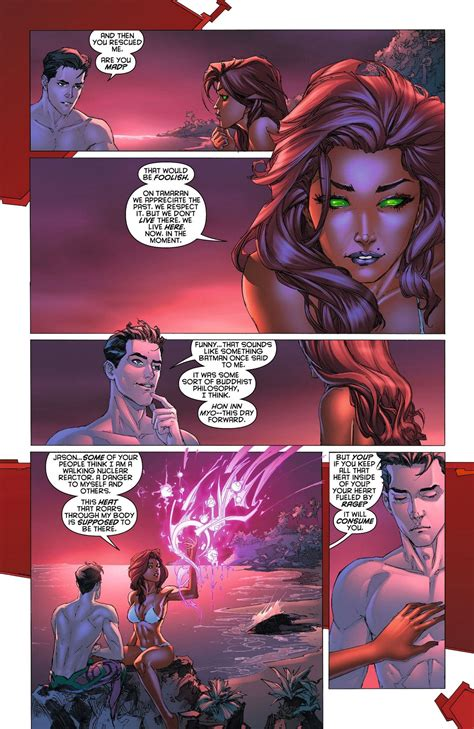 Pin By Vimal On Dc Comics Nightwing And Starfire Red