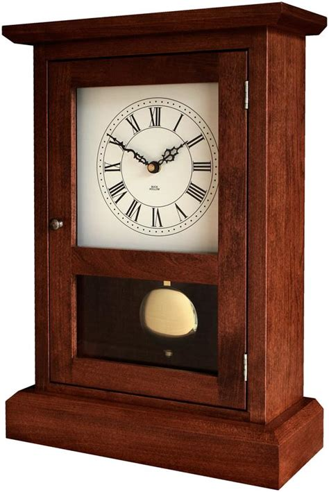 amish shaker mantel clock  dutchcrafters
