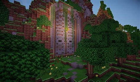 medieval huge dungeon door schematic world save minecraft project