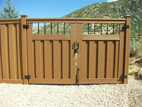 gates and fencing trex composite fencing gallery utahfence com