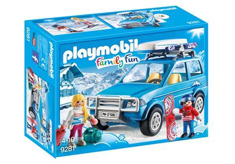 playmobil auto mit anhänger auto mit dachbox 9281 playmobil 174 deutschland