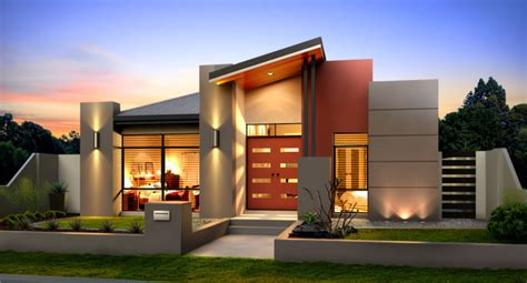 australian inspired single story contemporary house