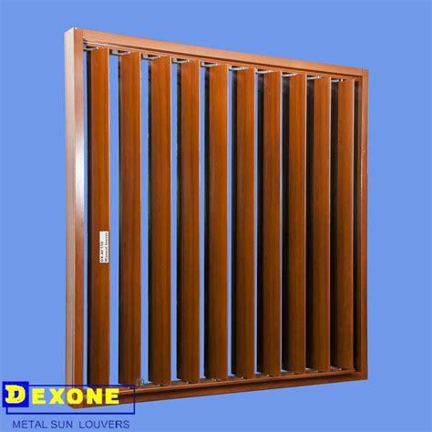 exterior decoarte aluminum vertical louver windowshorizontal louver iso buy exterior