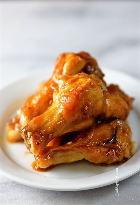maple glazed chicken wings recipe different types of