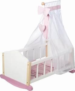 Baby Wiege Holz : roba puppenwiege wiege scarlett online kaufen otto ~ Frokenaadalensverden.com Haus und Dekorationen