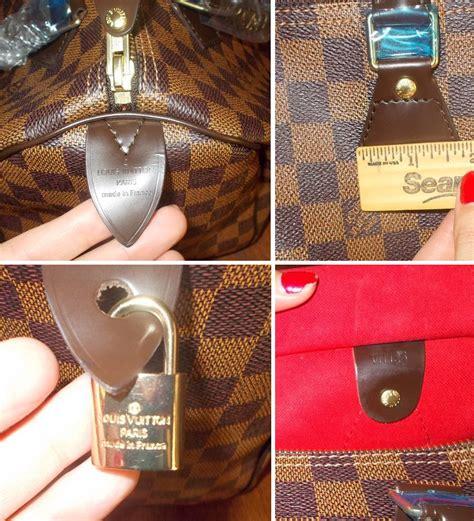 louis vuitton speedy bag authenticity   fakes