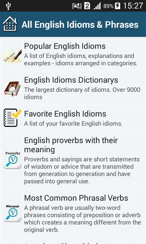 Examples Of Idioms And Their Meanings
