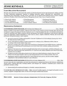 customer service manager resume sample for relations job With customer service manager job description for resume