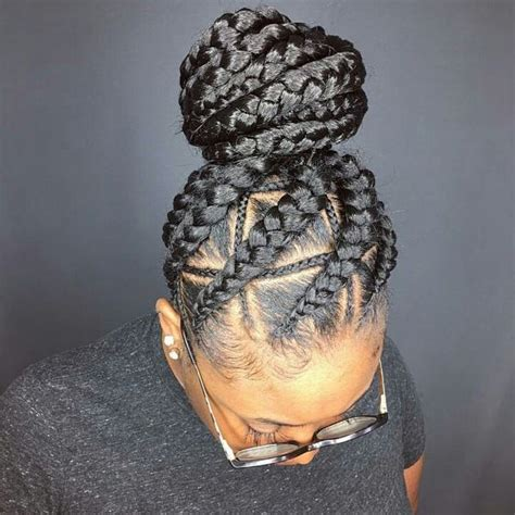 different styles of braided hair braids hairstyles pretty braid styles for black 7417