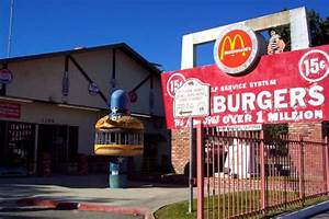The Original McDonald's in San Bernardino, California ...