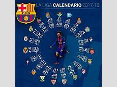 Calendario FC Barcelona 20172018 Liga Española Santander