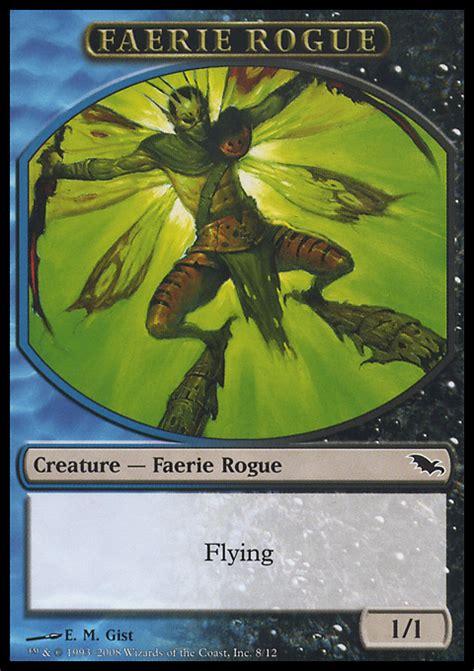 token shadowmoor faerie rogue 1 1