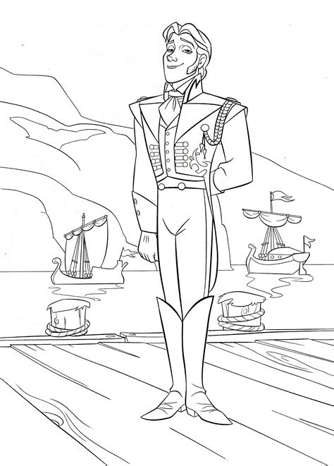 walt disney coloring pages prince hans westerguard walt disney characters photo