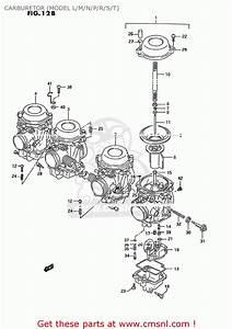 Suzuki Gsx600f Katana 1995  S  Usa  E03  Carburetor  Model