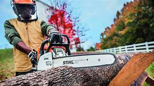 How To Use A Chainsaw Without Losing A Finger  Or Worse