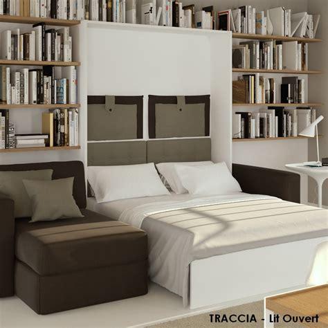 lit canapé escamotable lits escamotables avec canape letplace