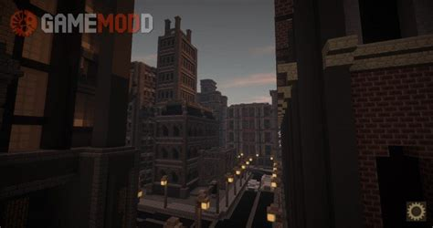 gotham city   minecraft maps gamemodd