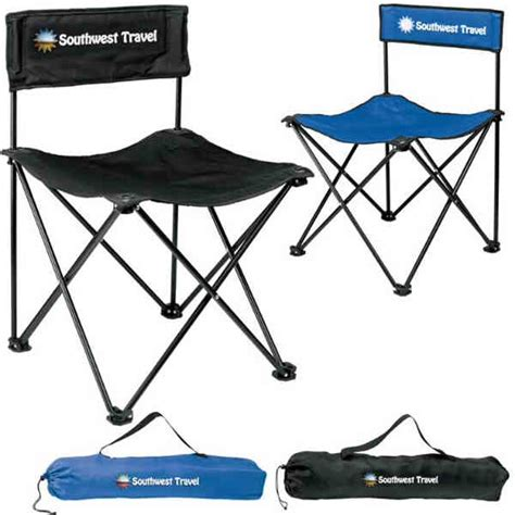 nylon folding armless lawn chair promotional product