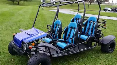 Four Seater by 150cc Wrangler 4 Seater Go Kart From Saferwholesale