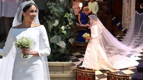 Breaking Down Meghan Markle's 0,000 Givenchy Wedding