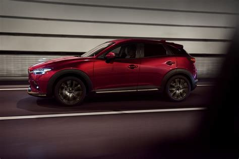 Mazda Introduces Updated 2019 Cx-3 At 2018 New York Auto