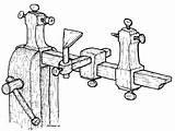 Lathe Drawing Plans Chisel Drawings Getdrawings sketch template