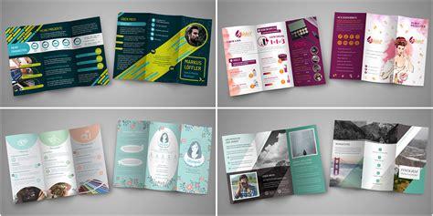 flyer und folder gestalten fertige design vorlagen