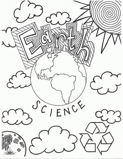 Coloring Science Pages Printable Lab Popular Awesome