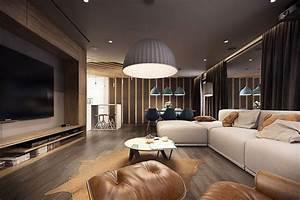 Stupendo Appartamento Stile Moderno  Design Elegante Ad Alto Contrasto   Con Immagini